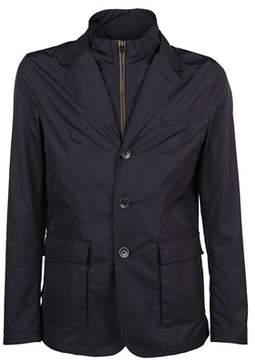 Herno Men's Ga0071u120109201 Blue Polyester Outerwear Jacket.
