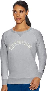 Champion Women's Fleece Long Sleeve Graphic Top