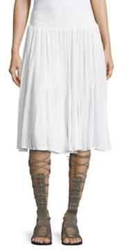 Context Crepe A-Line Skirt