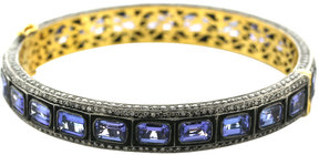 Artisan Women's Tanzanite & Diamond Bangle
