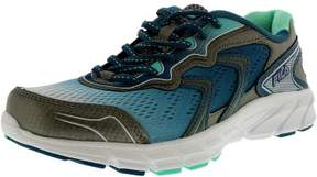 Fila Women's Stellaray Dark Silver/Fiery Coral/White Ankle-High Running Shoe - 7M