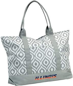 NCAA Logo Brand Illinois Fighting Illini Ikat Tote