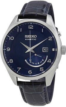 Seiko Kinetic Blue Dial Men's Watch