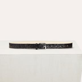 Maje Sequinned belt