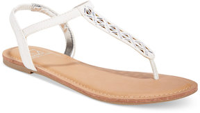 Material Girl Skyler Flat Sandals, Created for Macy's Women's Shoes