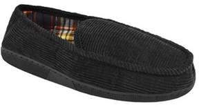 Muk Luks Men's Corduroy Moccasin With Flannel Lining.