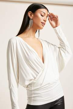 Forever 21 Surplice Knit Tunic