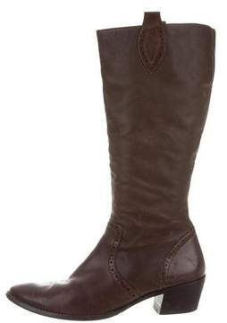 Paul Green Leather Knee-High Boots