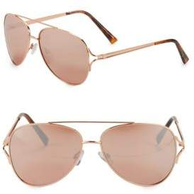 Sam Edelman 58MM Aviator Sunglasses