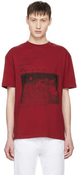 McQ Red No Wave T-Shirt