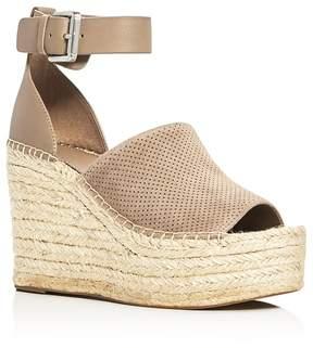 Marc Fisher Women's Adalyne Ankle Strap Espadrille Platform Wedge Sandals