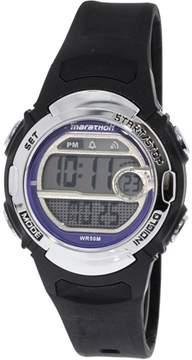 Timex Men's Marathon TW5M14300 Black Resin Quartz Sport Watch