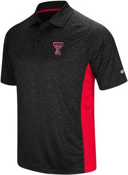 Colosseum Men's Texas Tech Red Raiders Wedge Polo