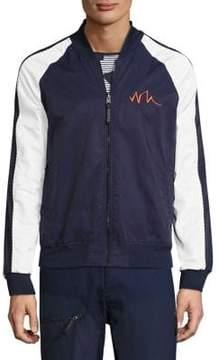 Madison Supply Reversible Baseball Collar Jacket
