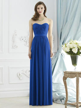 Dessy Collection 2943 Dress In Sapphire