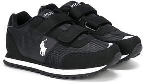 Ralph Lauren touch strap sneakers