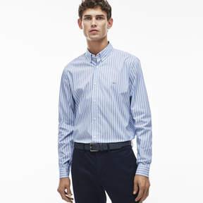 Lacoste Men's City Striped Stretch Poplin Shirt