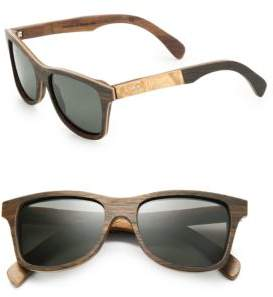 Shwood Canby Maplewood Square Sunglasses