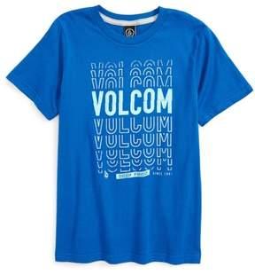Volcom Toddler Boy's Copy Cut Graphic T-Shirt