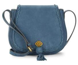 Nanette Lepore Santana Leather Saddle Bag