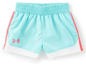 Under Armour Little Girls 2T-6X Solid Run Shorts