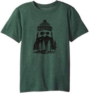 Life is Good Outdoor Beard Cool Tee Boy's T Shirt