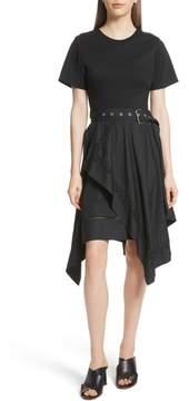 3.1 Phillip Lim Cotton Handkerchief Hem Dress