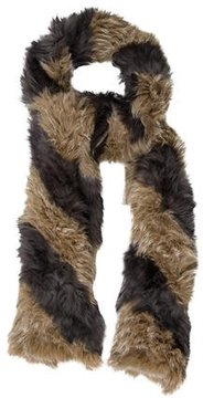 Matthew Williamson Knit Fur Scarf