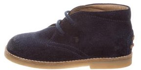 Tod's Boys' Suede Desert Boots