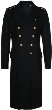 Kent & Curwen button up military coat
