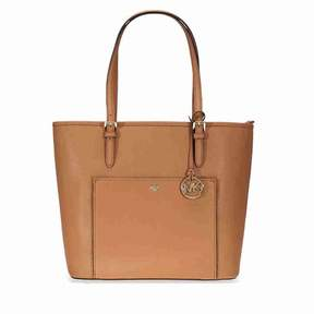 Michael Kors Jet Set Large Travel Saffiano Leather Tote - Acorn - ONE COLOR - STYLE