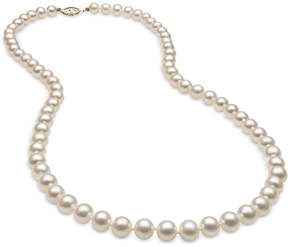 Belle de Mer Cultured Freshwater Pearl (6mm) Strand in 14k Gold