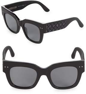Bottega Veneta Women's Tinted 49MM Square Sunglasses
