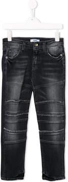 MSGM biker detail jeans