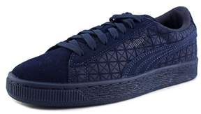 Puma Suede on Suede Jr Youth US 4 Blue Fashion Sneakers
