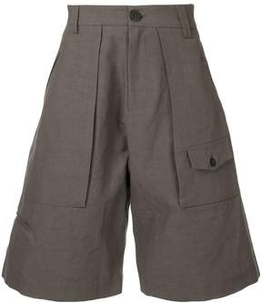 Isabel Benenato wide cargo shorts