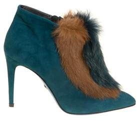 Loriblu Women's Light Blue Suede Ankle Boots.
