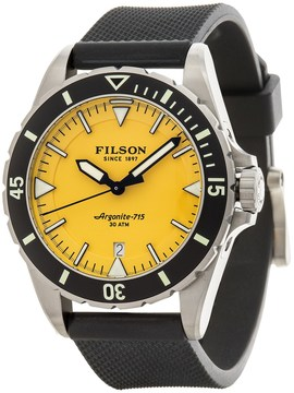 Filson Dutch Harbor Watch - 43mm, Rubber Band (For Men)