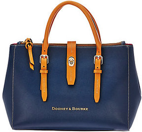 Dooney & Bourke As Is Embossed Pebble Leather Miller Satchel