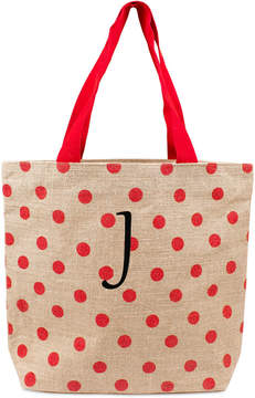 Cathy's Concepts Personalized Red Polka Dot Tote Bag