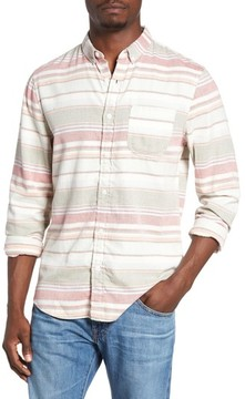 1901 Men's Blanket Stripe Woven Shirt