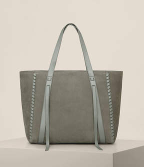 AllSaints Ray Nubuck East West Tote