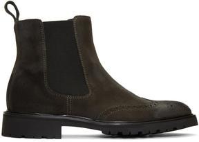 Belstaff Black Lancaster Chelsea Boots