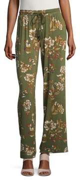 Context ??assel Accented Print Stretch Pants