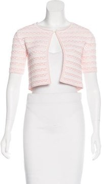 Christian Dior Tiered Cropped Cardigan w/ Tags