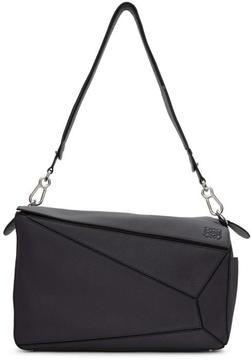 Loewe Navy XL Puzzle Bag