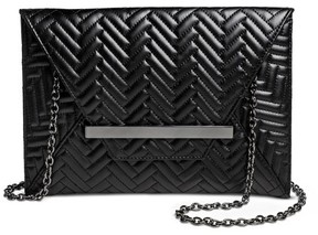 Mossimo Women's Faux Leather Clutch Handbag - Mossimo