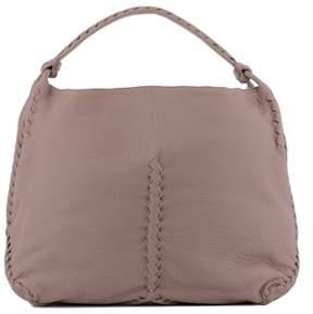 Bottega Veneta Women's Pink Leather Shoulder Bag.