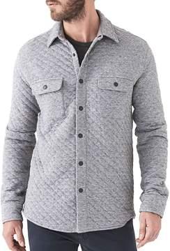 Faherty Quilted Belmar Snap Shirt - Men's