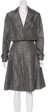 Christian Dior Mélange Woven Skirt Suit